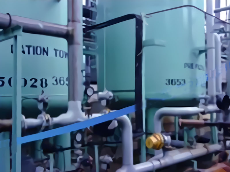 Cation Anion Water Treatment System